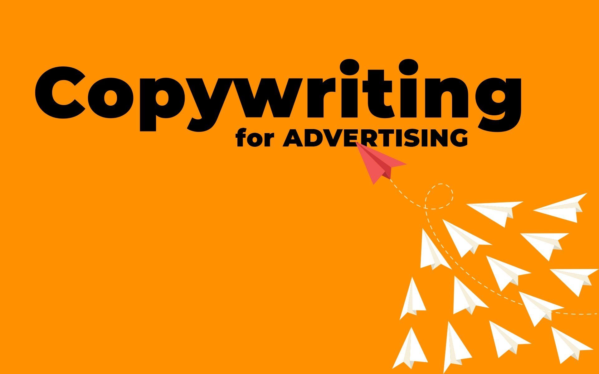 Copywriting For Advertising Head Image