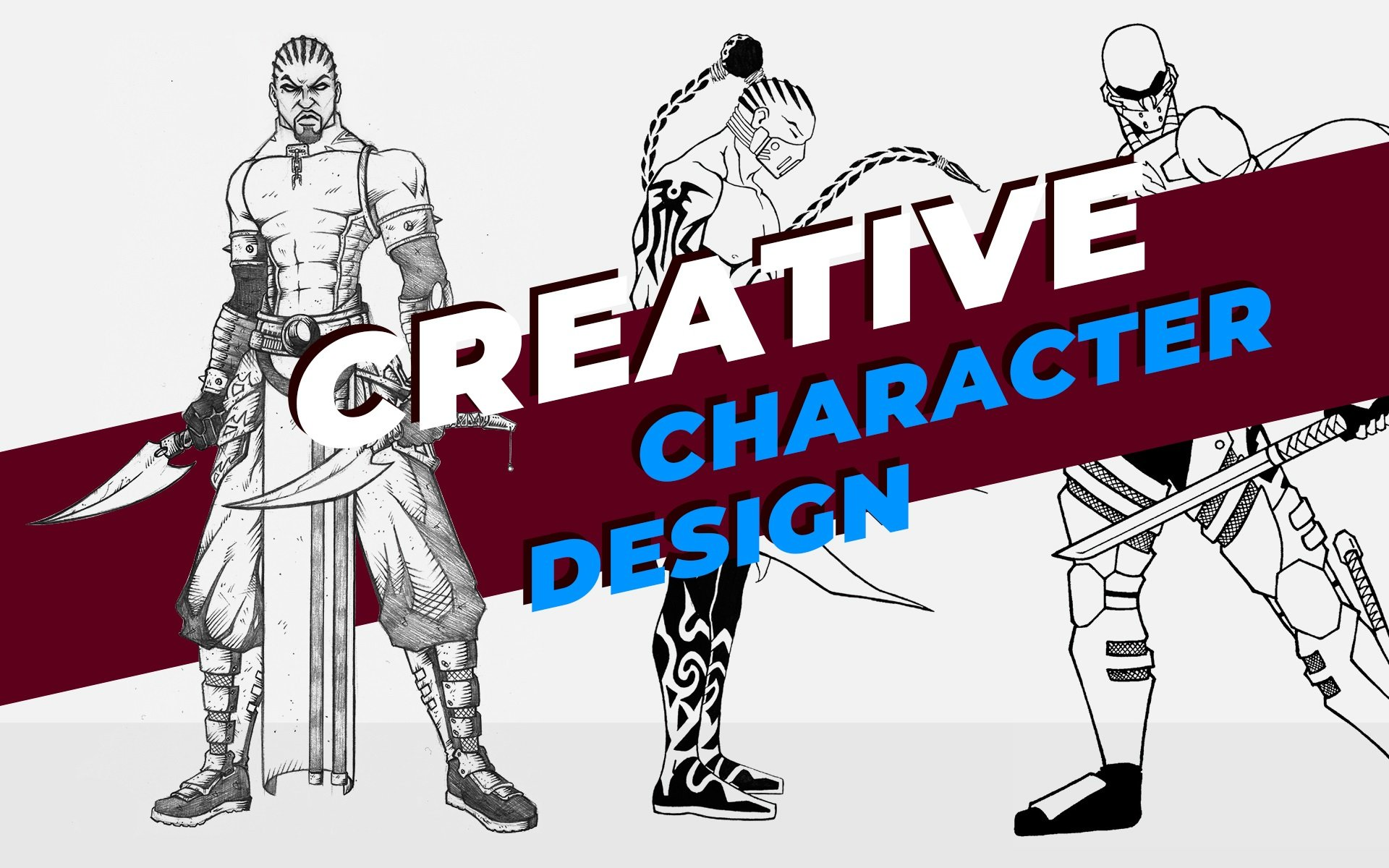 Creative Character Design Head Image