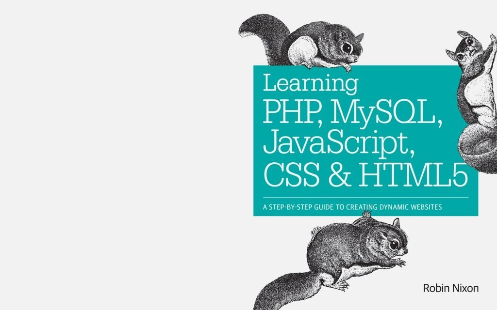 Learn PHP, MySQL, HTML and JaveScript Head Image